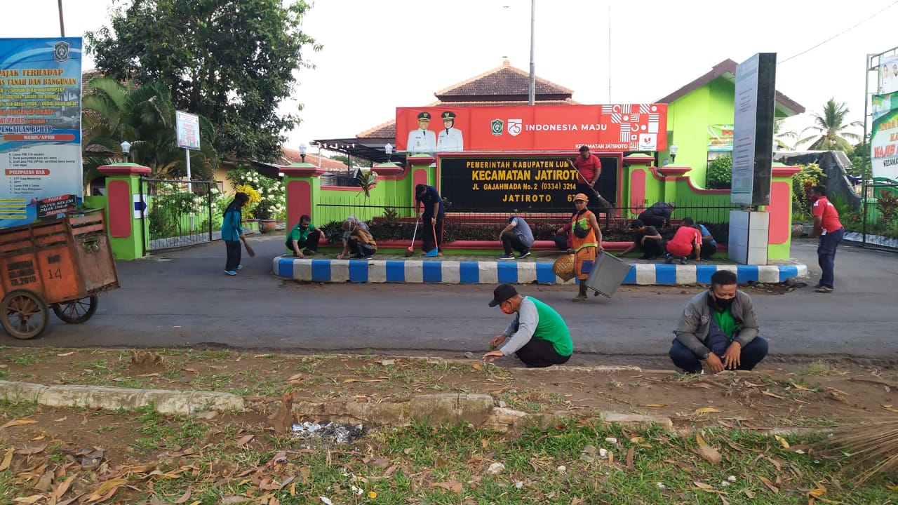 KEGIATAN WORLD CLEAN UP DAY INDONESIA (WCDI) TAHUN 2020
